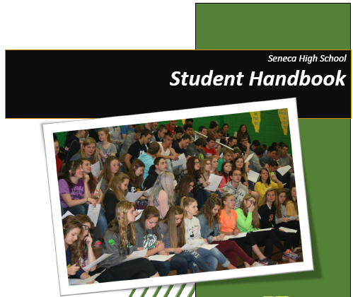 Preview of cover for student handbook